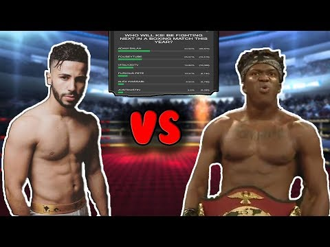 KSI VS ADAM SALEH! CONFIRMED!!