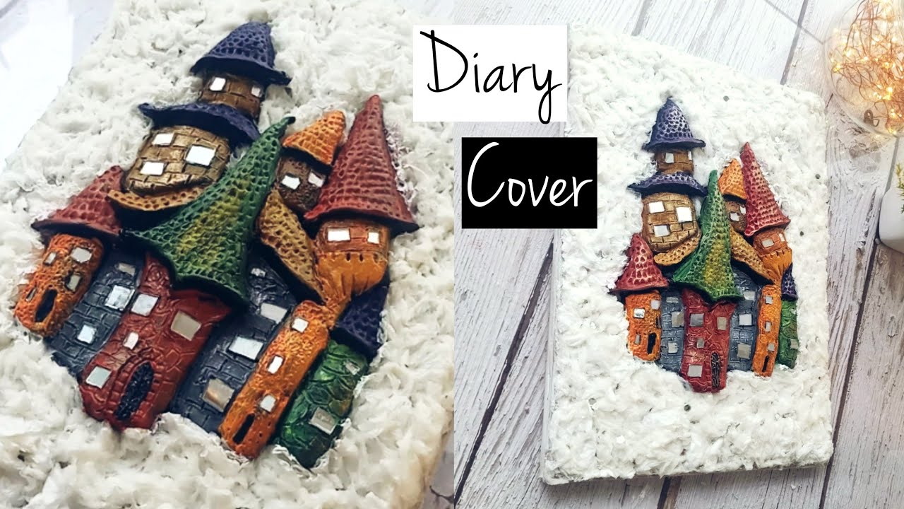 Diary Decoration Ideas   Diary Cover Design   Notebook Decoration Ideas