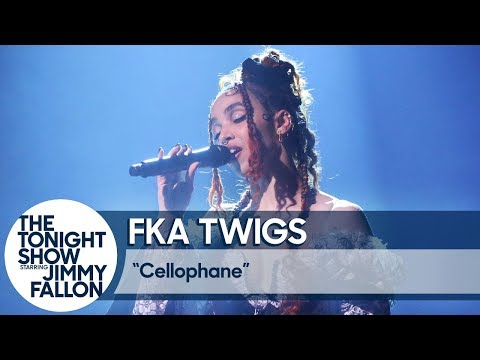 Watch FKA Twigs' Hypnotic Performance of 'Cellophane' on 'Fallon'