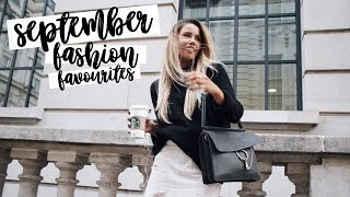 Most Worn Items: September (Fashion Favourites) | Copper Garden