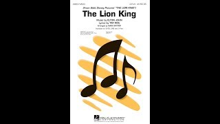 The Lion King (Medley, 1994) (2-Part Choir) - Arranged by Mark Brymer