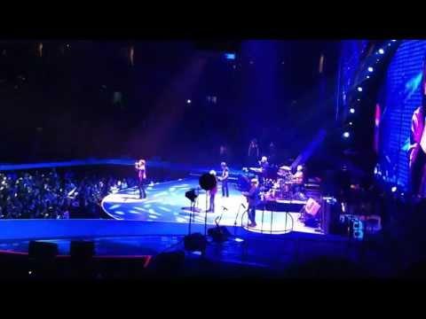 Memory Motel live, Rolling Stones, Boston TD Garden 2013-06-14