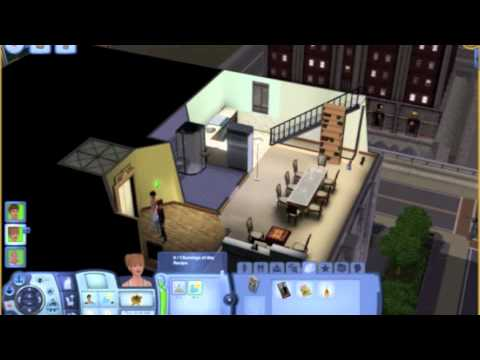 Sims 3 Late Night Apartment Stairs