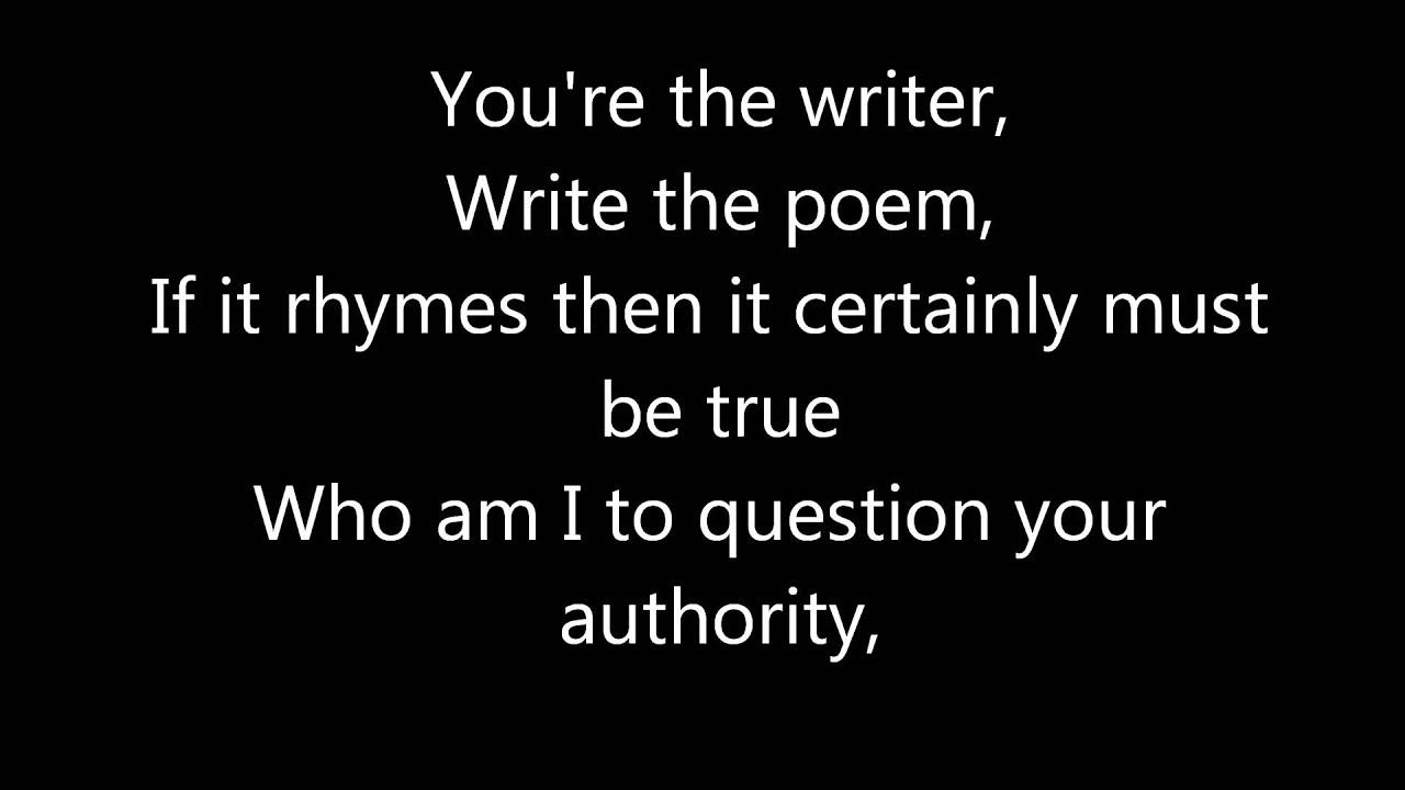 Black Or White - Bleeding in Stereo: Lyrics - YouTube