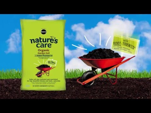 Miracle-Gro® Nature's Care® Organic Garden Soil with Water Conserve®