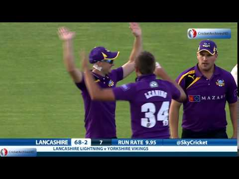 Unbelievable, stunning catch by Adam Lyth and Aaron Finch - One of the best catch in cricket history