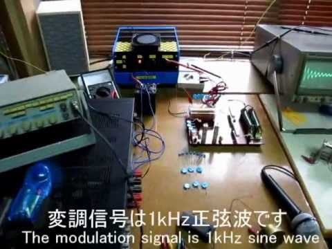 [RFW20] 火花放電式無線電話の実験 デモ動画(その1) An experiment of the TYK style sparky radio telephone part 1