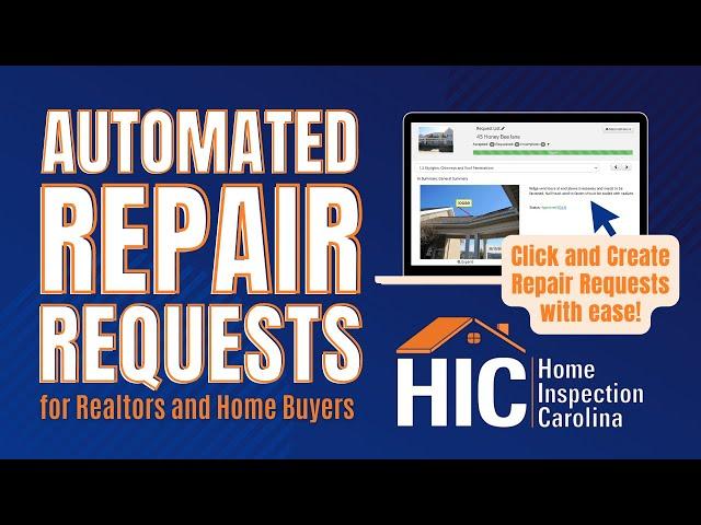 Realtor Repair Request