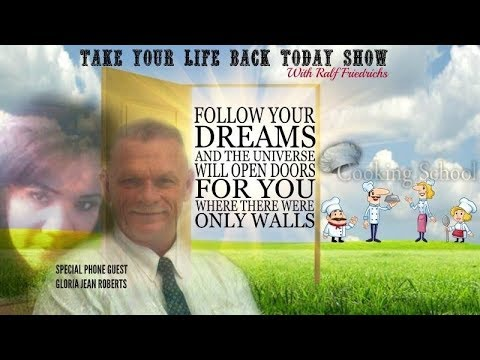 Finding your dreams!  Special  Phone Guest Gloria Jean Roberts