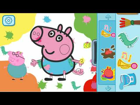 HOW TO COLORING PEPPA PIG 🐽 GEORGE FOR TODDLERS #2