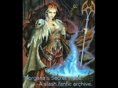 Merlin Y Morgana Trabajo De Historia Youtube