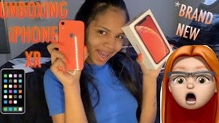 UNBOXING MY BRAND NEW IPHONE XR !!!