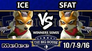 TBH6 SSBM - Ice (Fox) Vs. CLG   SFAT (Fox) - Smash Melee Winners Semis