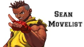 Street Fighter III: 3rd Strike - Sean Move List
