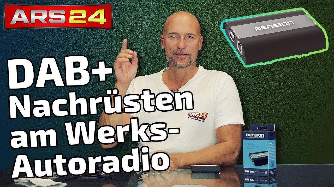 dab+ digitalradio nachrüsten am usb-anschlus des werks-autoradios