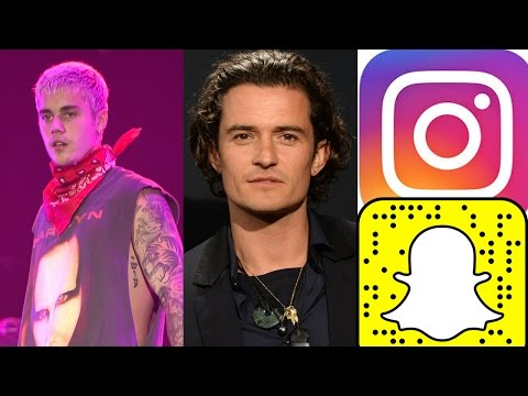 Justin Bieber Team Kanye? Orlando Bloom Goes Nude & Instagram Copies Snapchat Stories!