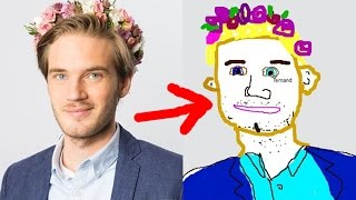 DRAWING TOGETHER WITH FANS! - (Fridays With PewDiePie - Part 103)
