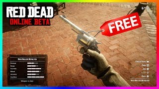 Red Dead Online - The BEST Guns & Weapons That You Can Acquire! FREE Weapons, Gun Upgrades & MORE!