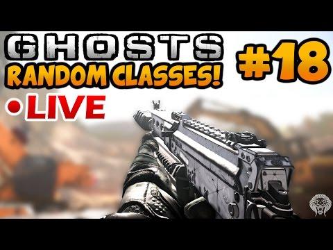 Ghosts Random Classes #18: