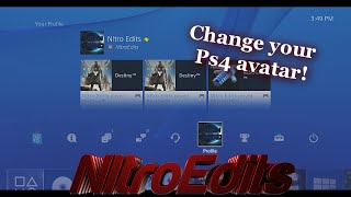 How To Have Custom Profile Pictures on PS4!