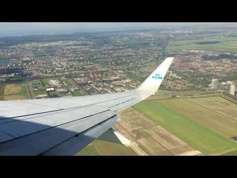 KLM Boeing 737-800 PH-HSD takeoff from Amsterdam-Schiphol Kaagbaan