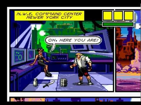 Comix Zone Walkthrough/Gameplay Sega Genesis