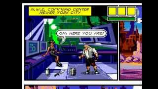 Comix Zone Walkthrough/Gameplay Sega Genesis