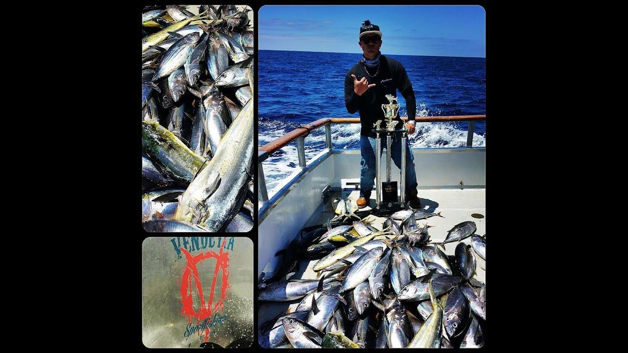 San Diego Fishing Vendetta Yellowfin Tuna Skipjacks