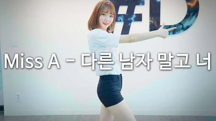 miss a  only you     dance cover dpop mirror mode