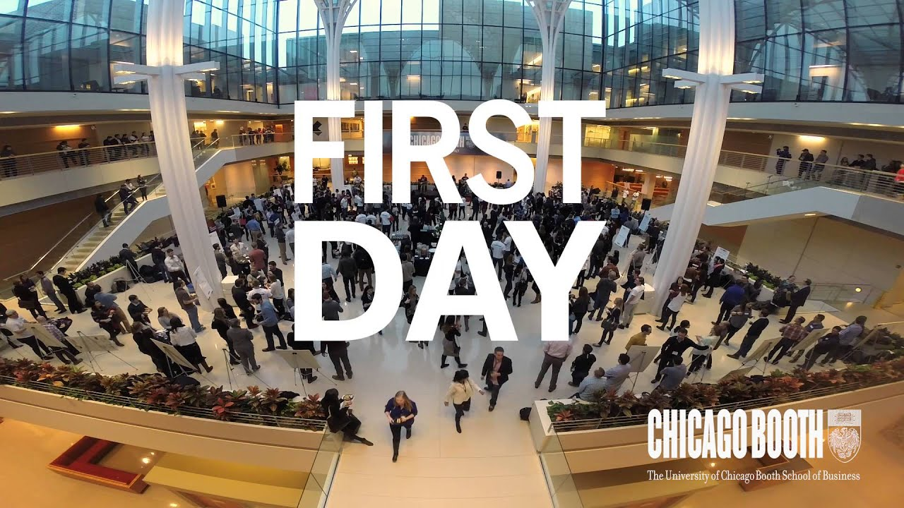 chicago booth first day flash mob youtube