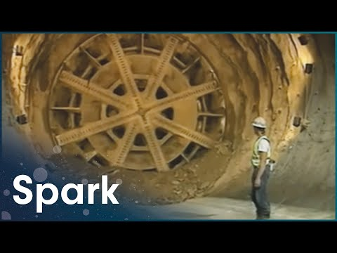How Did They Build The Eurotunnel Under The Sea? | Super Structures | Spark
