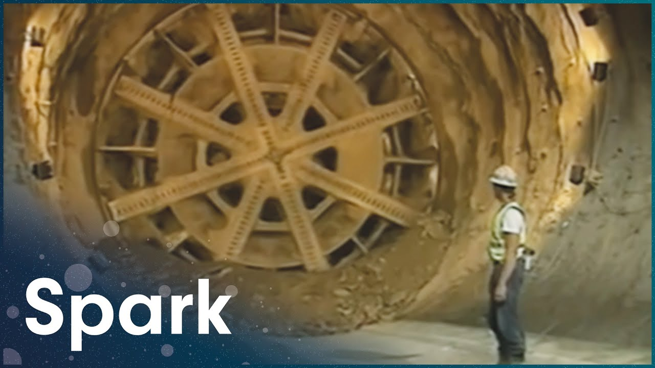 This Is How They Built The Eurotunnel | Super Structures | Spark