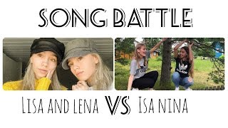 Musical.ly Song Battle Compilation | Lisa and Lena VS Isa Nina | Part 2
