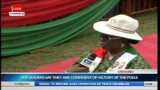 Jonathan, PDP Leaders Woo Osun Citizens Ahead Of Guber Election Pt.2