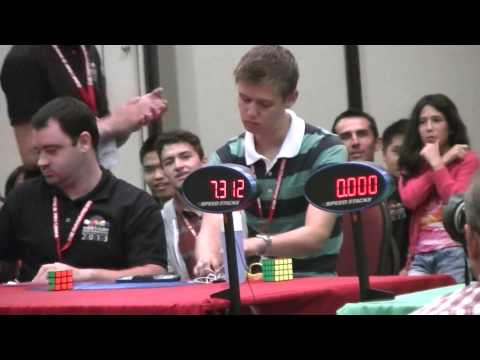 Feliks Zemdegs & Mats Valk - FINAL 3x3x3 World Cube Championship 2013
