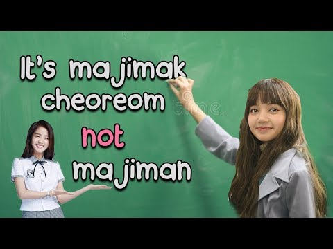 Learn the Alphabet with Blackpink