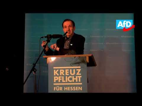 Rede von Gottfried Curio in Frankfurt