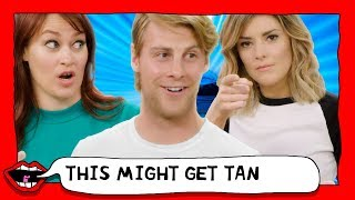 WORST FAKE TAN EVER?! with Grace Helbig & Mamrie Hart