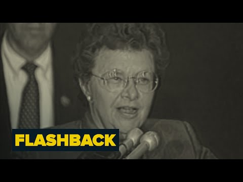 Barbara Mikulski's First Senate Campaign | Flashback | NBC News