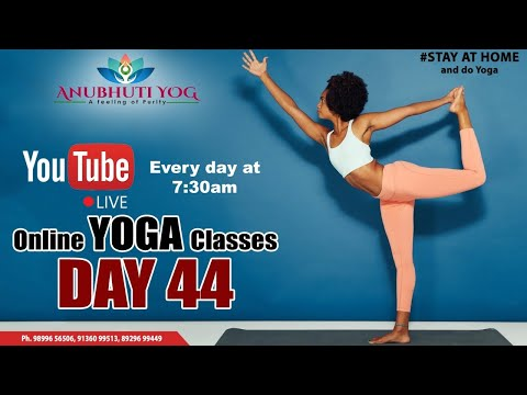 day 44 | power yoga | full body wtorkout
