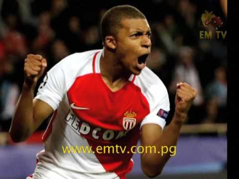 Monaco Beats  Manchester City in UEFA Champions League