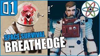 SPACENAUTICA? Sobrevivência no Espaço!   Breathedge Ep 01 - Gameplay PT BR