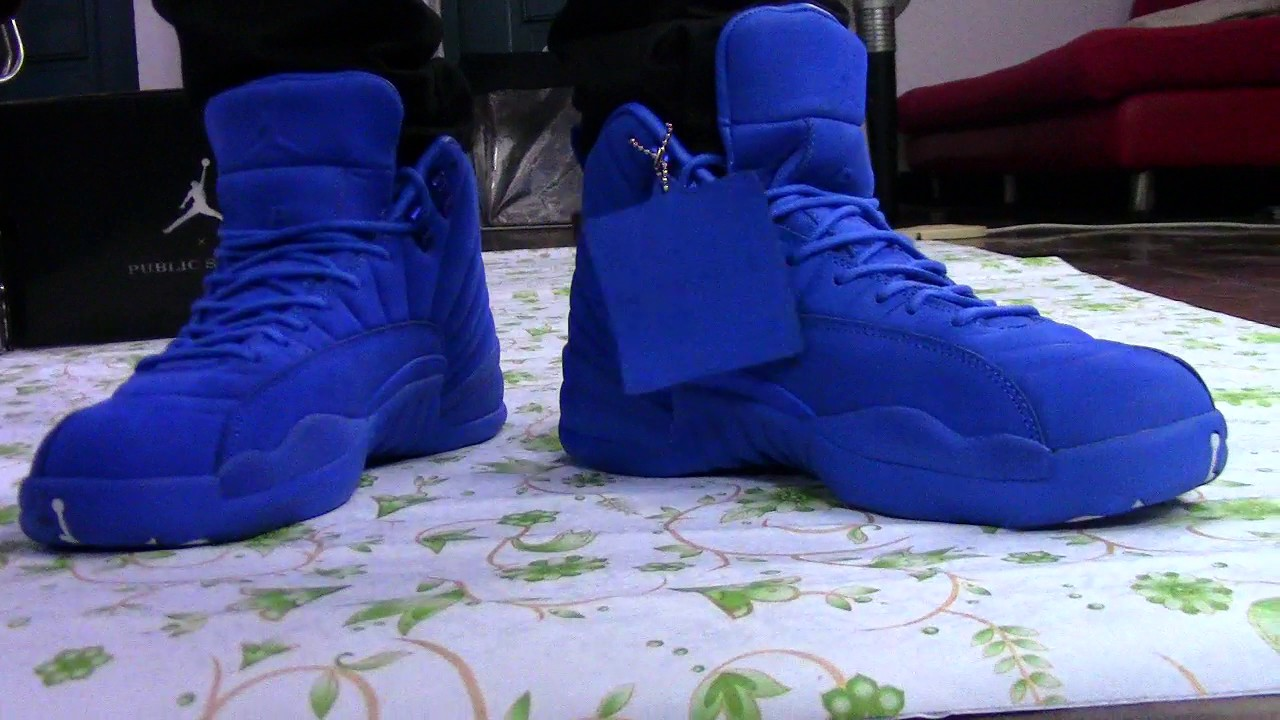 56918c30b7883f ... shopping unauthorized authentic authentic air jordan 12 psny on feet  2016 9d3c3 554de