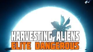 Elite Dangerous - The Thargoids have Adapted plus Alien Harvesting