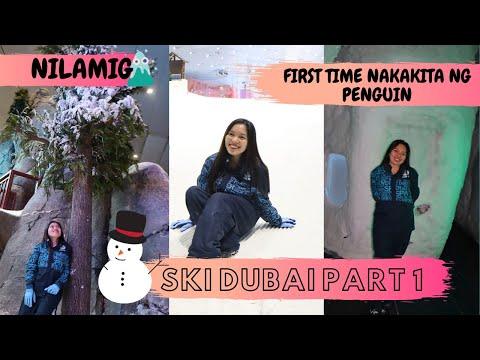 SNOW SA DISYERTO??? – PENGUIN ENCOUNTER – SKI DUBAI TRIP l KiannaAliah