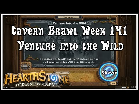 Hearthstone: Tavern Brawl - Venture into the Wild - Week 141