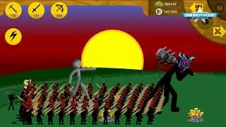 💗 999 SWORDWRATH LAVAR vs SPEARTON 💗 STICK WAR 3 APK MOD ARMY 😂 Best Games #FHD