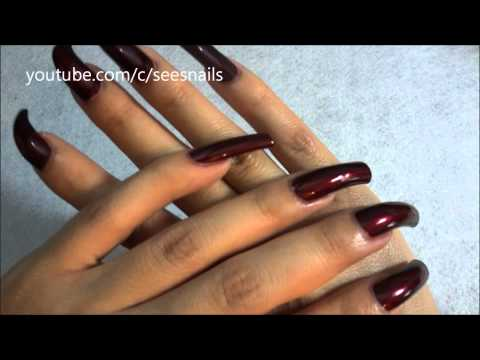 Showing My Long Natural Nails - Heart of Africa