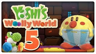 Let's Play YOSHI'S WOOLLY WORLD Part 5: Xilebo macht auf dicke Hose