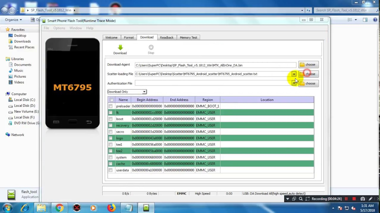 All MTK DEVICE 7 0/8 0 FRP FINALL SOLUTION BY SP TOOL